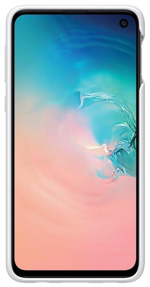 купить Чехол для моб.устройства Samsung EF-RG970 Protective Standing Cover S10e White в Кишинёве