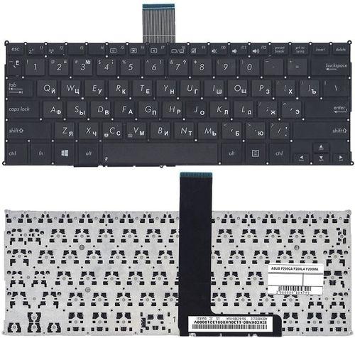 """купить Keyboard Asus X200 F200 R202 w/o frame """"ENTER""""-small ENG/RU Black в Кишинёве"""