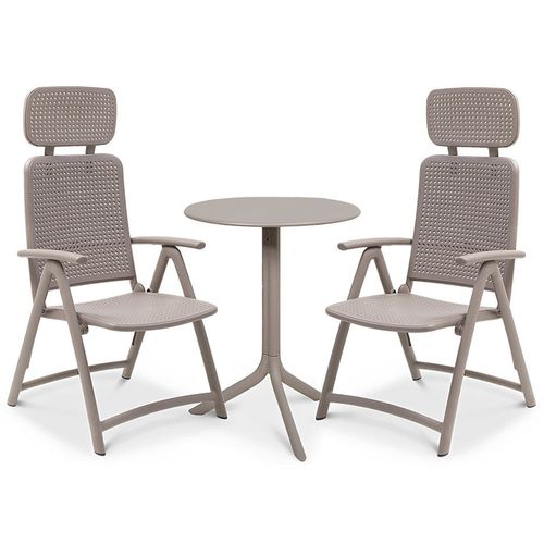 купить Комплект садовой мебели стол Nardi STEP + 2 кресла ACQUAMARINA в Кишинёве