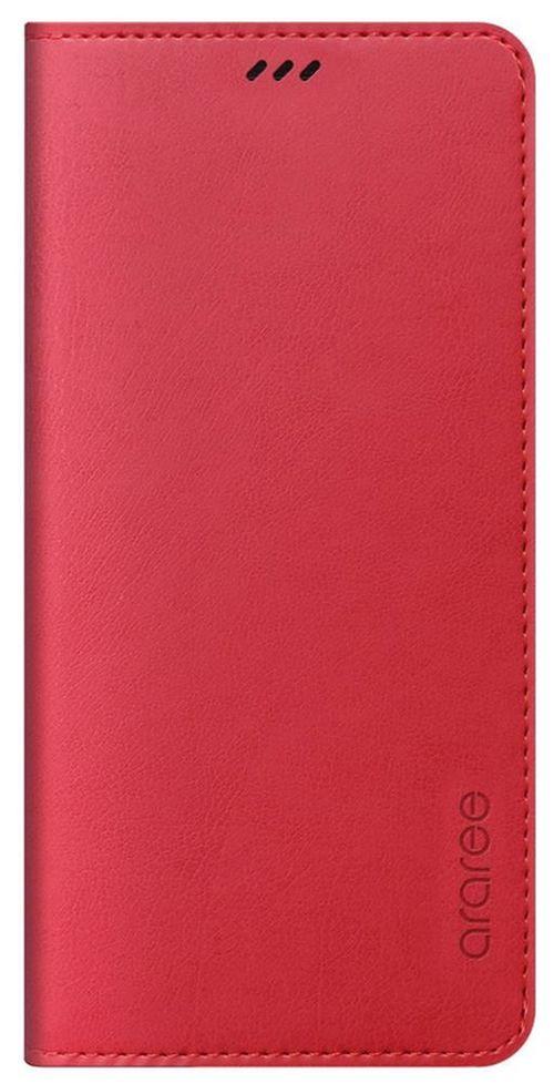 купить Чехол для смартфона Samsung GP-A530, Galaxy A8 2018, Araree Mustang Diary, Tangerine Red в Кишинёве