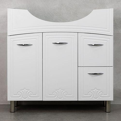 купить Deco One Шкаф белый Про под умывальник Zenon 860 в Кишинёве