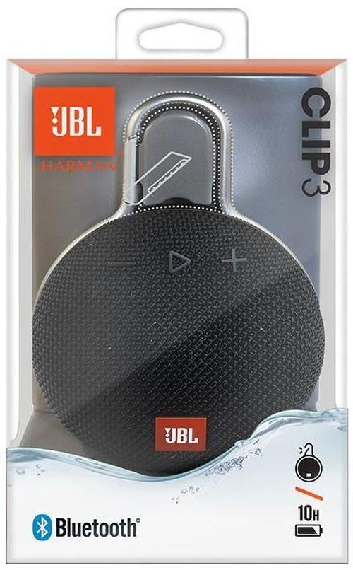 cumpără Boxă portativă Bluetooth JBL Clip 3 Black în Chișinău