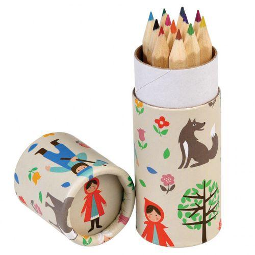 купить Карандаши для Красной Шапочки (набор из 12 штук) в Кишинёве