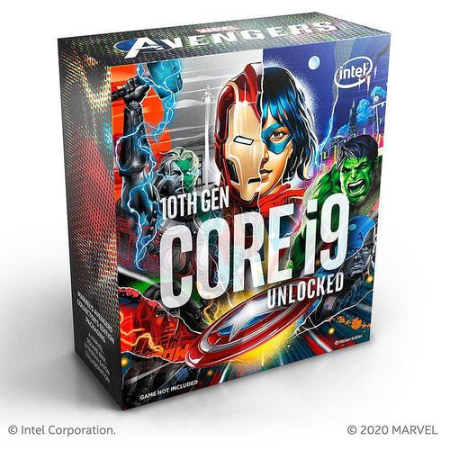 купить CPU Intel Core i9-10850KA Avengers Limited Edition 3.6-5.2GHz 10 Cores 20-Threads, (LGA1200, 3.6-5.2Hz, 20MB, Intel UHD Graphics 630) BOX no Cooler, BX8070110850KA (procesor/процессор) в Кишинёве