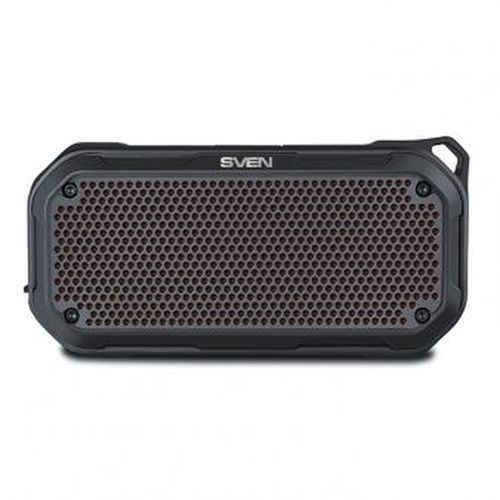 купить SVEN PS-240 Black, Bluetooth Waterproof Portable Speaker, 12W RMS, Water protection (IPx7), LED display, Support for iPad & smartphone, FM tuner, USB & microSD, TWS, built-in lithium battery - 2000 mAh, ability to control the tracks, AUX stereo input в Кишинёве