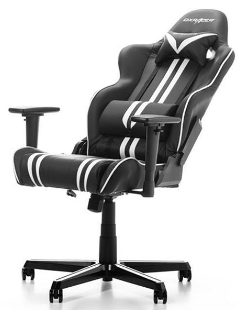 купить Gaming кресло DXRacer Racing GC-R9-NW-Z1, Black/White/Black в Кишинёве