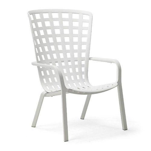купить Лаунж-кресло Nardi FOLIO BIANCO 40300.00.000.04 (Лаунж-кресло для сада и террасы) в Кишинёве