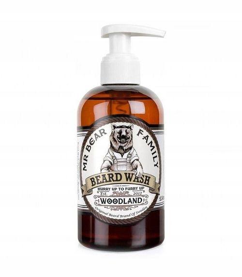 купить Шампунь Для Бороды - Mr. Bear Family Beard Wash Woodland 250Ml в Кишинёве