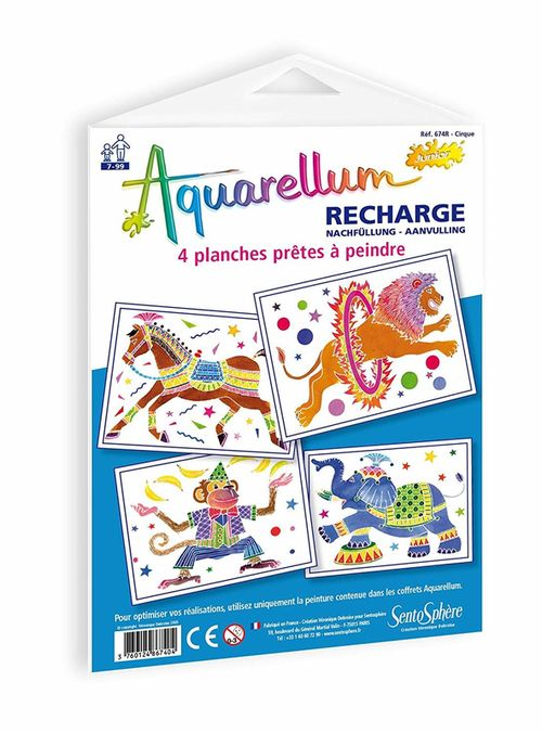 купить Recharge Aquarellum Junior - Cirque в Кишинёве