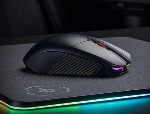 купить ASUS ROG Chakram RGB Wireless Gaming Mouse, Qi charging, programmable joystick, wired/2.4GHz/Bluetooth, 16000 dpi sensor, Aura Sync lighting в Кишинёве