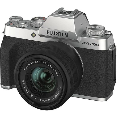 купить Fujifilm X-T200 Black XC15-45mm F3.5-5.6 OIS PZ Kit, Mirrorless Digital Camera Fujifilm X System (Aparat fotografic) в Кишинёве