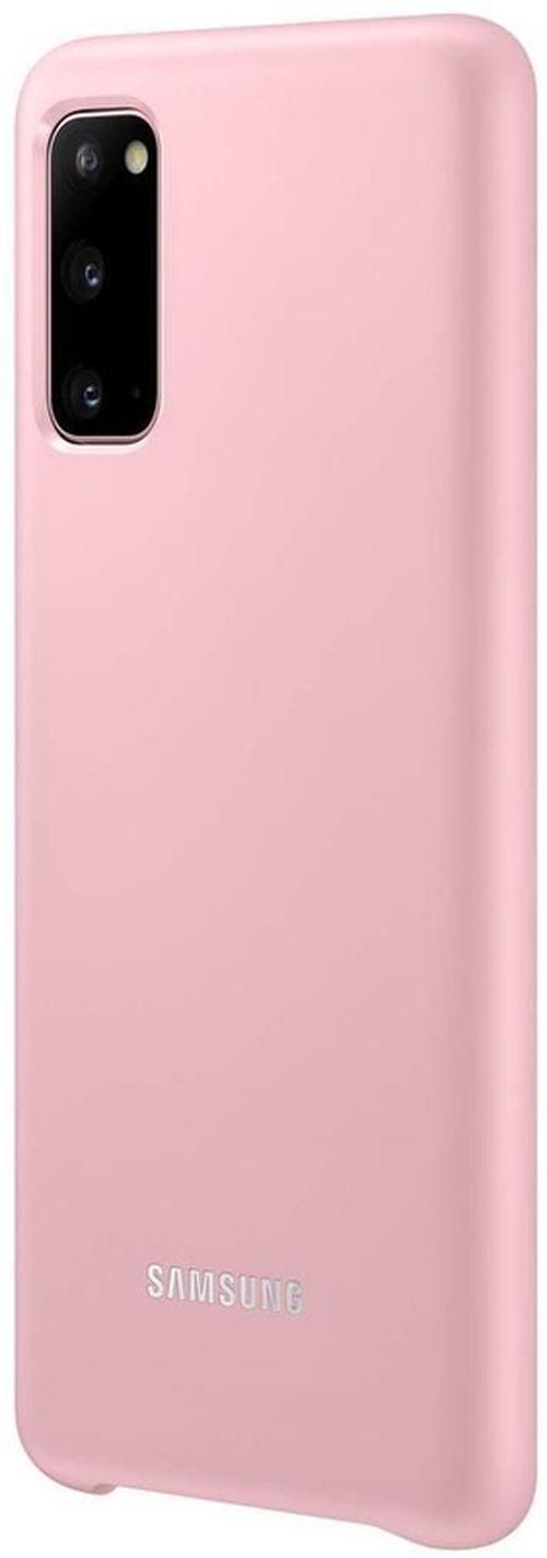 купить Чехол для моб.устройства Samsung EF-KG980 LED Cover Pink в Кишинёве