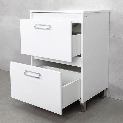 купить Montana Шкаф белый под умывальник Allegro 600 в Кишинёве