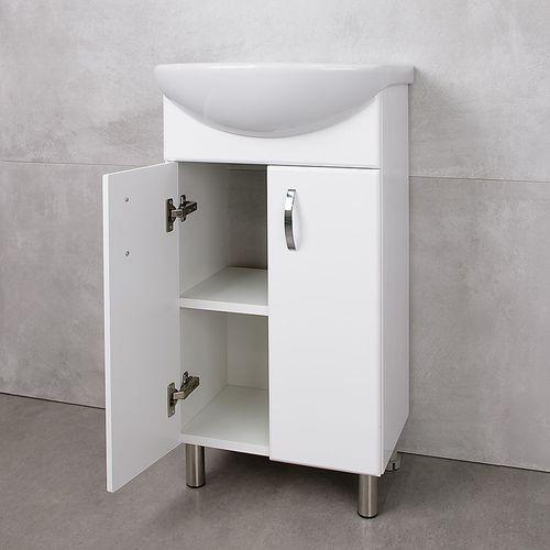купить Bris Шкаф белый под умывальник Azov 450 в Кишинёве