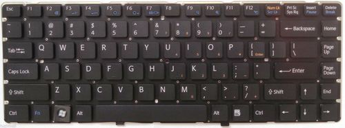 купить Keyboard Sony VGN-NW w/frame ENG. Black в Кишинёве