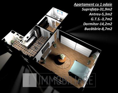 Apartamente în bloc locativ Braniștii, sect. Rîșcani, str. Braniștii.