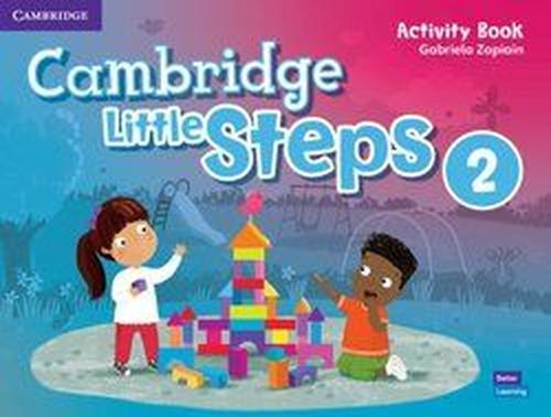 купить Cambridge Little Steps Level 2 Activity Book в Кишинёве
