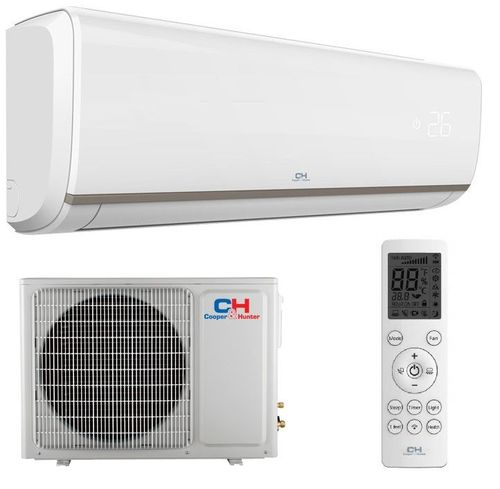 cumpără Aparat de aer conditionat tip split pe perete Inverter Сooper&Hunter CH-S09FTXN-E2 9000 BTU în Chișinău
