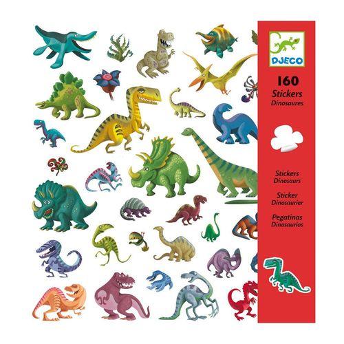 купить Djeco Stickers - Dinosaurs в Кишинёве