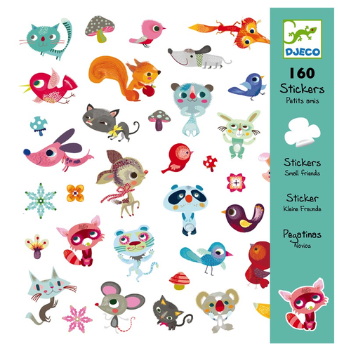 купить Djeco Small Friends stickers в Кишинёве