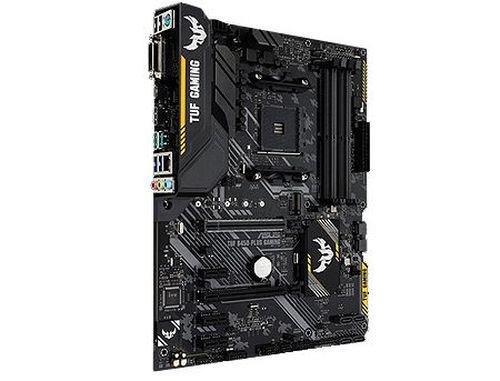 купить Материнская плата ASUS TUF B450-PLUS GAMING AMD B450, AM4, Dual DDR4 4400MHz, 2xPCI-E 3.0/2.0 x16, HDMI/DVD-D, AMD CrossFireX, USB 3.1, USB Type-C, SATA RAID 6Gb/s, M.2 x4 Socket, SB 8-Ch., GigabitLAN, LED lighting, (placa de baza/материнская плата) в Кишинёве