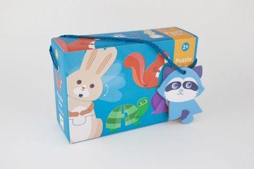 купить Puzzle duo- Animale, Djeco в Кишинёве
