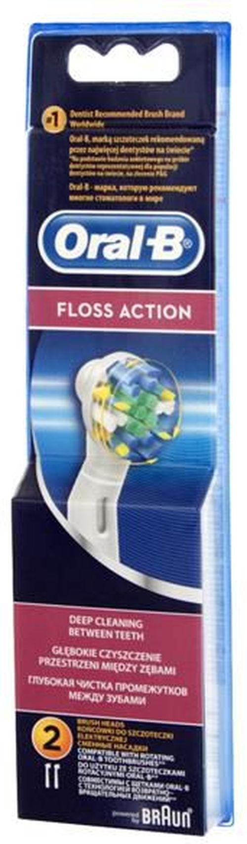 купить Аксессуар для зубных щеток Oral-B EB25 Floss Action в Кишинёве