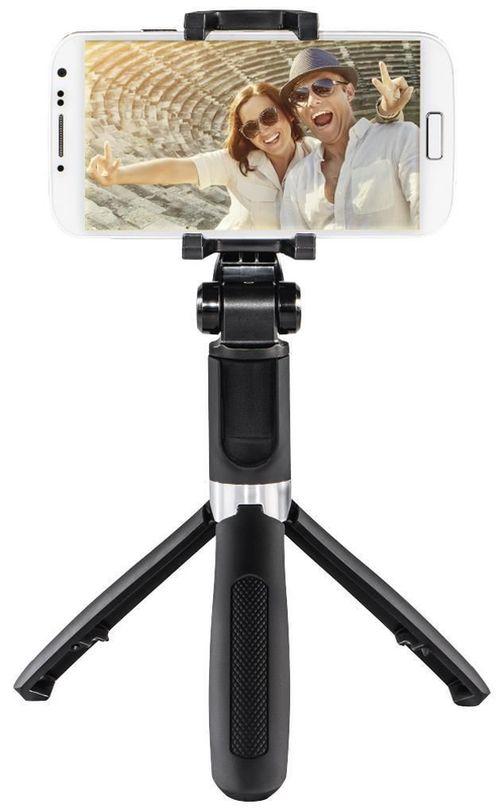 купить Штатив Hama 4316 Selfie-stick Funstand 57 Bluetooth Black в Кишинёве