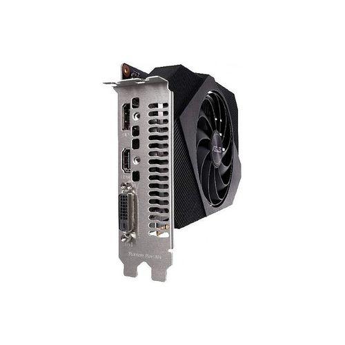 купить Видеокарта ASUS PH-GTX1650-O4GD6-P, GeForce GTX1650 4GB GDDR6, 128-bit, GPU/Mem clock 1665/12002MHz, PCI-Express 3.0, DVI/HDMI/Display Port (placa video/видеокарта)) в Кишинёве