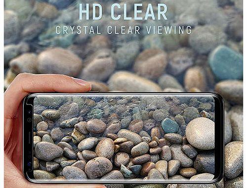купить 480019 Screen Geeks sticla protectie Samsung S8 Full Cover Glass Pro All Glue 4D Black (защитное стекло для смартфонов Samsung в асортименте) в Кишинёве