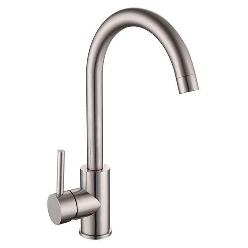 LOTTA смеситель для кухни 55401-SS, сталь, 35 мм (кухня)