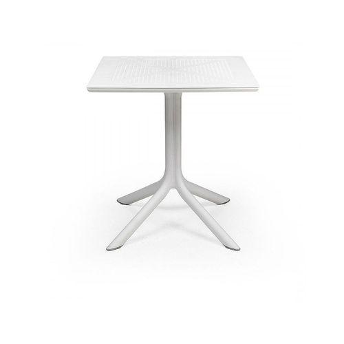 купить Стол Nardi CLIPX 70 BIANCO 40085.00.000 (Стол для сада террасы балкон) в Кишинёве