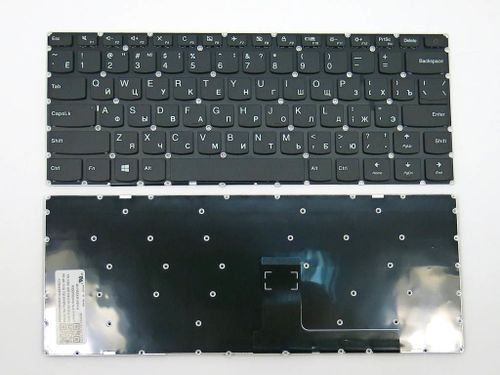 cumpără Keyboard Lenovo Ideapad 110-14 110-14IBR 110-14ISK  w/o frame ENG/RU Black în Chișinău