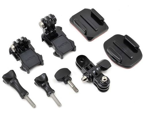 купить GoPro Grab Bag -give yourself more mounting options and spare parts. Includes Curved and Flat Adhesive Mounts, two Mounting Buckles, a 3-Way Pivot Arm, plus a variety of short and long thumb screws, compatible with all GoPro cameras. в Кишинёве