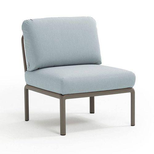 купить Кресло модуль центральный с подушками Nardi KOMODO ELEMENTO CENTRALE TORTORA-ghiaccio Sunbrella 40373.10.138 в Кишинёве