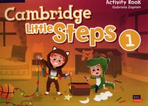 купить Cambridge Little Steps Level 1 Activity Book в Кишинёве