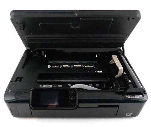 cumpără HP Deskjet Ink Advantage 5525 e-AiO Printer, Copier, Scanner, 11/8 ppm, 4800x1200 dpi, 64Mb, Up to 1000 pages, Duplex, 6.74 cm touchscreen CGD, HP ePrint, Scan to e-mail, Memory Card Compatibility, USB 2.0 Hi-Speed, WiFi 802.11b/g/n în Chișinău