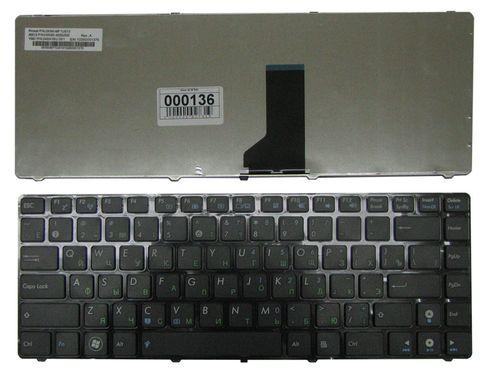 купить Keyboard Asus K42 X44 X43 A43 A42 X42 K43 UL30 UL80 N43 N82 U31 U35 U36 U41 U45 ENG/RU Black в Кишинёве