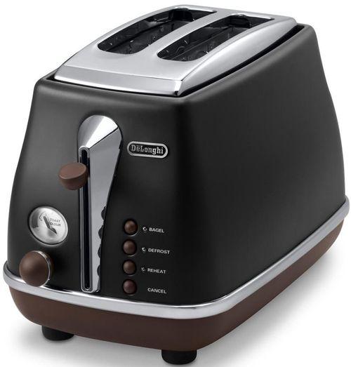 cumpără Toaster DeLonghi CTOV2103.BK Icona Vintage în Chișinău