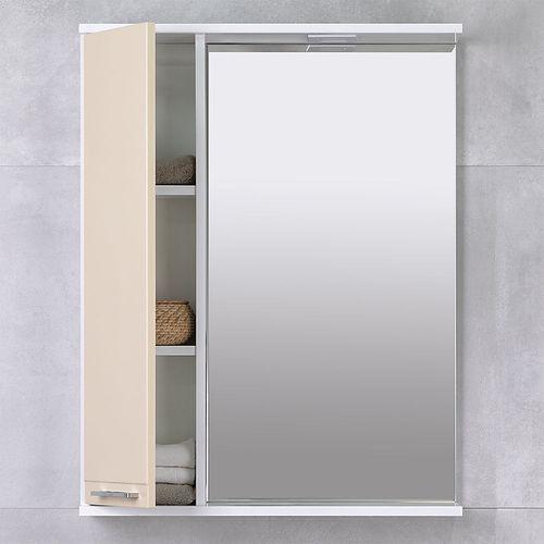 купить Rivera Шкаф-зеркало беж 650 L в Кишинёве