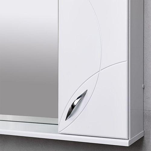 купить Premium Шкаф-зеркало белый 1000 R в Кишинёве