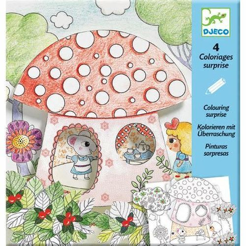 купить Djeco - Thumbelina Colouring Surprise в Кишинёве