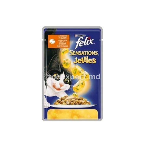купить FELIX Sensation  индейка с шпинатом в желе в Кишинёве