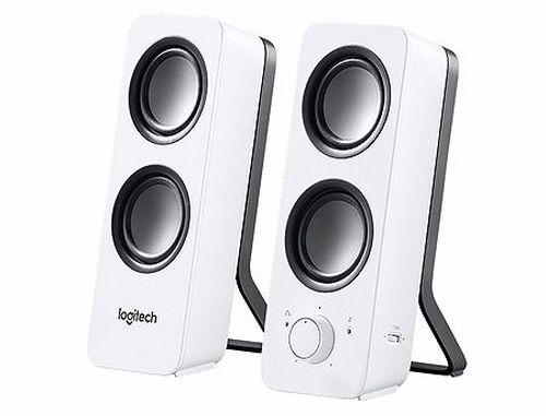 купить Logitech Z200 Snow White Stereo Speakers 2.0 ( RMS 5W, 2x2.5W satel.), 980-000811 (boxe sistem acustic/колонки акустическая сиситема) в Кишинёве