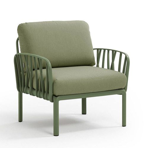 купить Кресло с подушками для сада и терас Nardi KOMODO POLTRONA AGAVE-giungla Sunbrella 40371.16.140 в Кишинёве