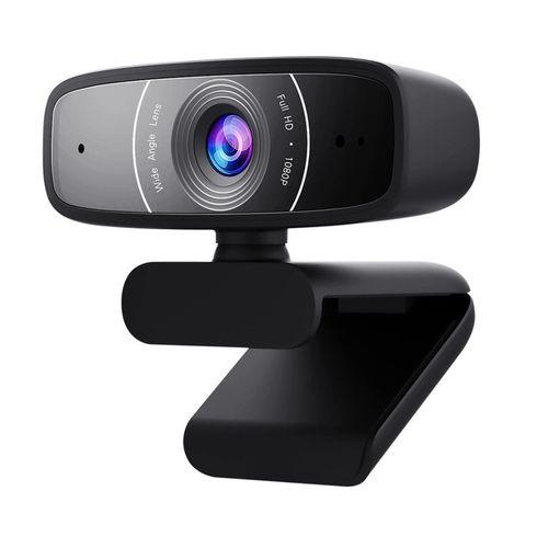 cumpără Camera web ASUS Webcam C3, FullHD 1920x1080 Video 30 fps, 2 built-in Microphones, 90° tilt-adjustable clip and 360° rotation, USB 2.0 (camera web/веб-камера) în Chișinău