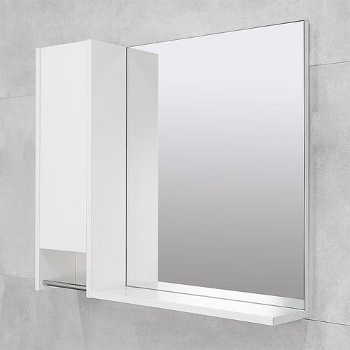 cumpără Dulap-oglindă Selena alb structurat 700 L în Chișinău