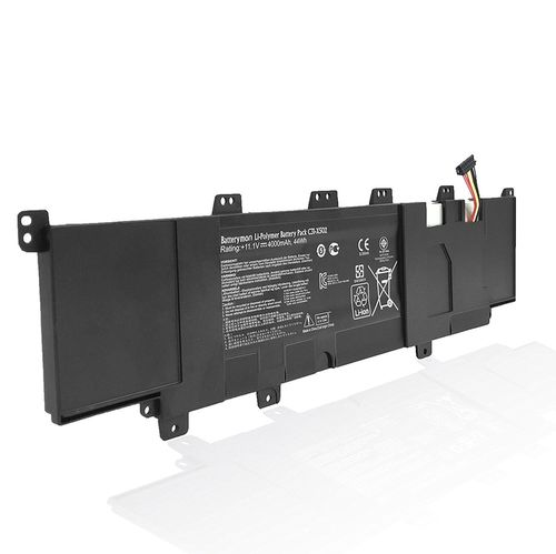 купить Battery Asus X502 S500 V500 PU500 C21-X502 C31-X502 11.1V 4000mAh Black Original в Кишинёве