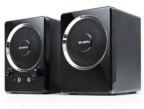 купить Active Speakers SVEN 247 Black USB, RMS 4W, 2x2W (boxe sistem acustic/колонки акустическая сиситема) в Кишинёве