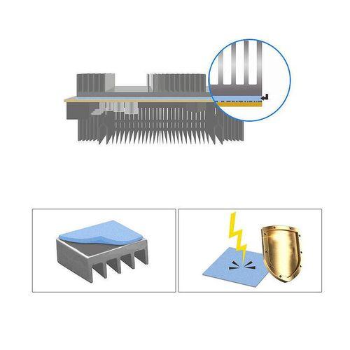 купить Термопаста Arctic High Performance Thermal Pad APT2560 Blue, 145x145mmx1.5mm, Continuous Use Temperature -40~200 degree celcius в Кишинёве